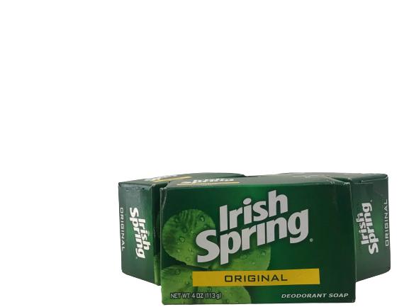Irish Spring Original Bar Soap Feel Clean & Fresh