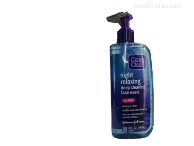 Clean & Clear Night Relaxing Deep Cleaning Face Wash